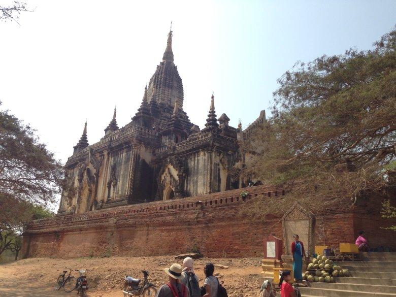 Świątynia Shwe - san - daw, Bagan/Birma
