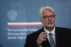 Witold Waszczykowski odwoła ambasadora przy ONZ. Znalazł innego specjalistę.