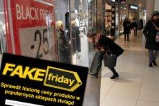 """W Black Friday w Polsce klienci są często manipulowani """"okazyjnymi"""" cenami. Rzekomo promocyjne ceny przewyższają te sprzed kilku miesięcy. Powstała strona, która pozwala je porównać"""