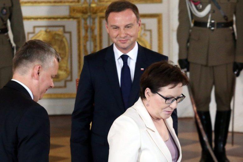 Premier Ewa Kopacz powiedziała, że prezydent Duda nie spełni swoich obietnic wyborczych