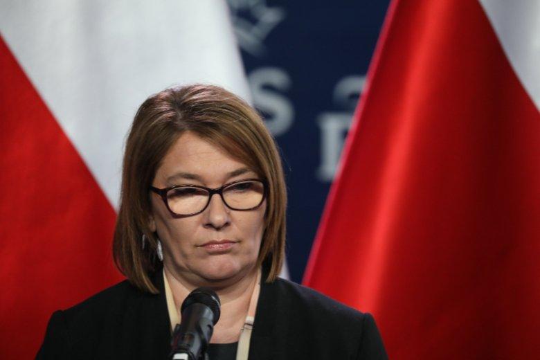 """Beata Mazurek zapowiedziała kroki prawne w związku z publikacją """"taśm Kaczyńskiego""""."""