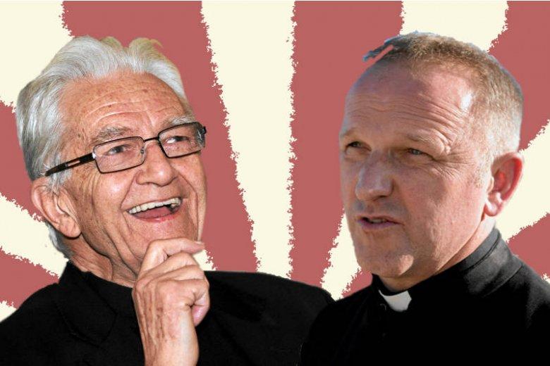 ks. Adam Boniecki i ks. Wojciech Lemański