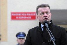 Mariusz Błaszczak chyba mocno przeżył uniewinnienie działaczy KOD