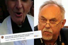 Poseł Janusz Sanocki skomentował w homofobicznym tonie nasz artykuł o awanturze w kościele w Płocku