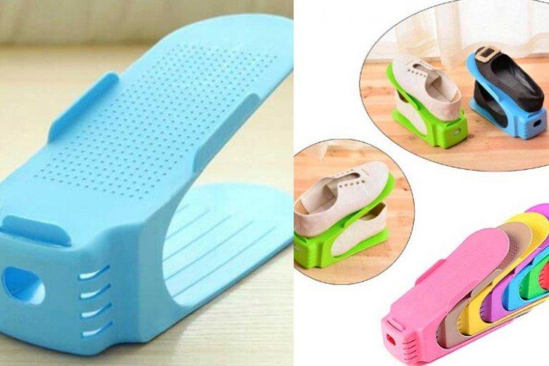 Stojaczki na buty sprawdzą się w niemal każdym mieszkaniu. Cena: ok. 66.50 (zestaw 8 sztuk)
