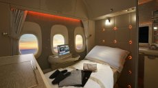 Szybka drzemka 10 tysięcy metrów nad ziemią wygodna jak w pięciogwiazdkowym hotelu? Takie rzeczy tylko na pokładzie Boeinga 777.