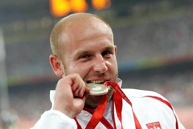 Piotr Małachowski, złoty medal w Amsterdamie