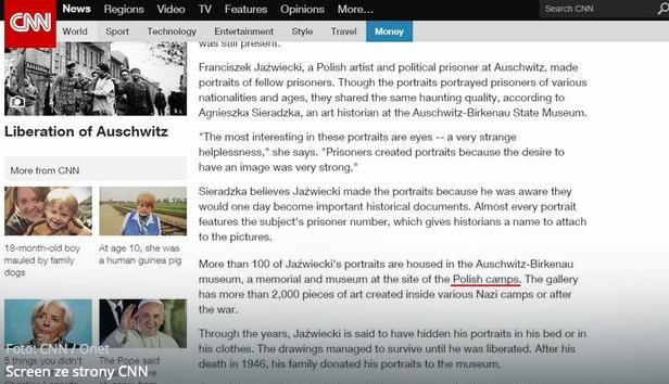 """CNN użył w odniesieniu do Auschwitz określenia """"polski obóz śmierci""""."""