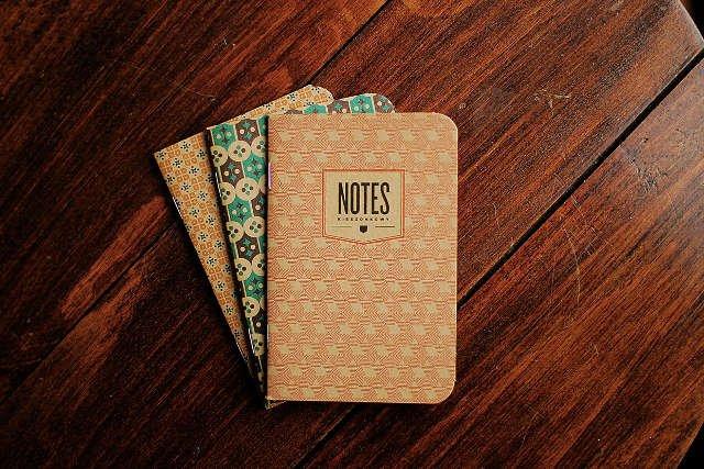 Notesy Nieladaco wyglądają jak notesy naszych rodziów