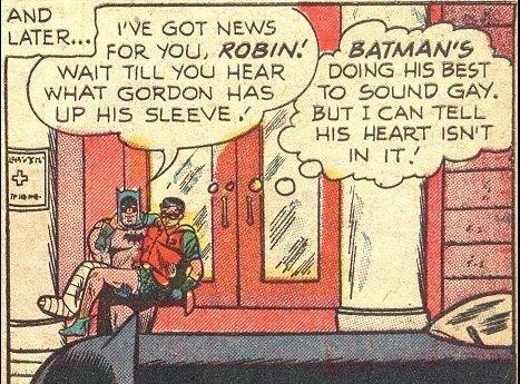 Postacie komiksowe często mają niejasną orientację seksualną.