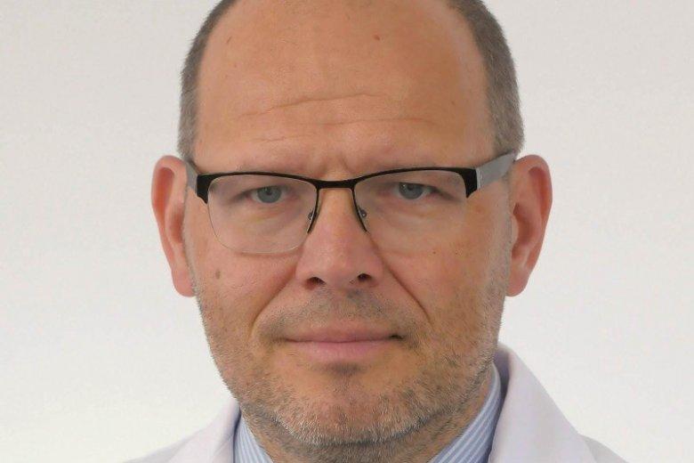 Prof. dr hab. Wojciech Jurczak, hematolog z Katedry i Kliniki Hematologii Uniwersytetu Jagiellońskiego Collegium Medicum w Krakowie.