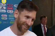 Leo Messi po meczu z Nigerią totalnie zaskoczył dziennikarza.