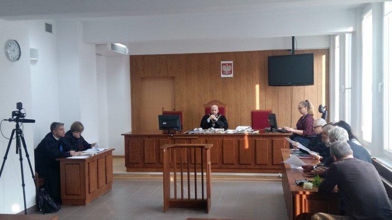 Rozprawa o naruszenie miru domowego Marszałka Kuchcińskiego 13.10.2017