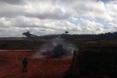 Podczas ćwiczeń Zapad 2017 rosyjskie śmigłowce KA-52 ostrzelały... rosyjskich dziennikarzy.