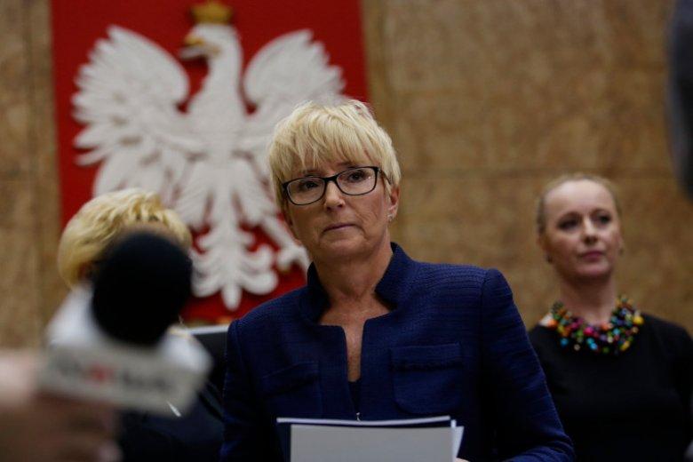 Sędzia Beata Morawiec szykuje się do procesu z ministrem sprawiedliwości Zbigniewem Ziobro o ochronę dóbr osobistych