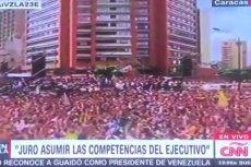 W Wenezueli ludzie protestują przeciwko prezydentowi