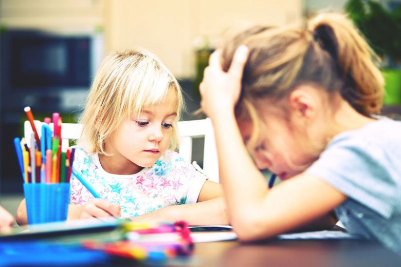 Talent ujawni się sam - nie trzeba dzieci nakłaniać, aby go szukały