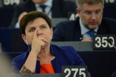 Beata Szydło tłumaczyła w PE potrzebę przeprowadzenia reformy sądownictwa.