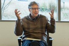 Bill Gates, jeden z najbogatszych ludzi na świecie, regularnie organizuje akcje charytatywne.