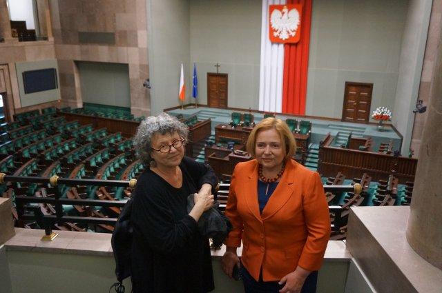 ANN SNITOW W POLSKIM SEJMIE, 2015