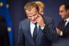 Donald Tusk w swoim stylu odniósł się do kryzysu w obozie rządzącym, który widać w tle akcji CBA przeciw prezesowi NIK Marianowi Banasiowi.