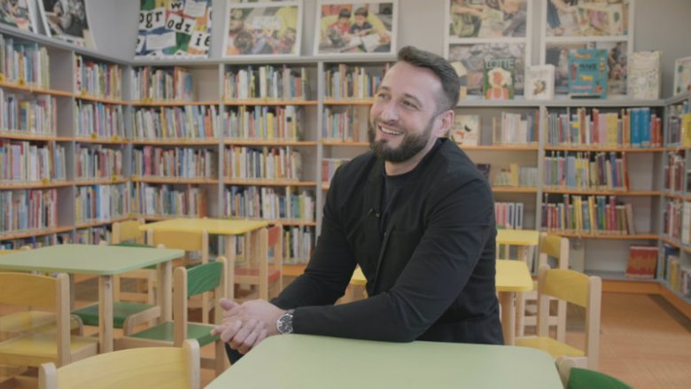 Robert Kijek, dyrektor Biblioteki Multimedialnej