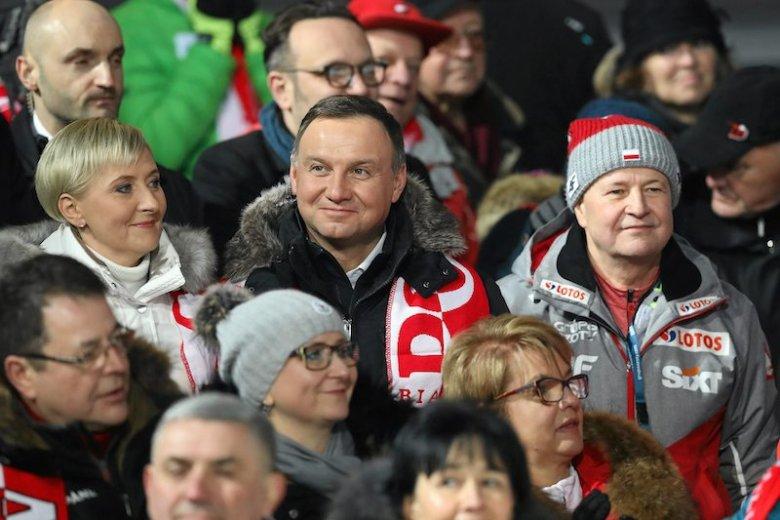 Andrzej Duda z małżonką byli w Zakopanem.