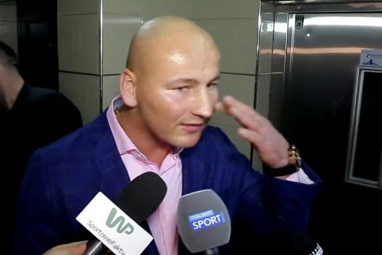 Artur Szpilka wbiegł na ring i uderzył Tomasza Oświecińskiego. Po chwili tłumaczył, że nawet nie wie, dlaczego to zrobił.