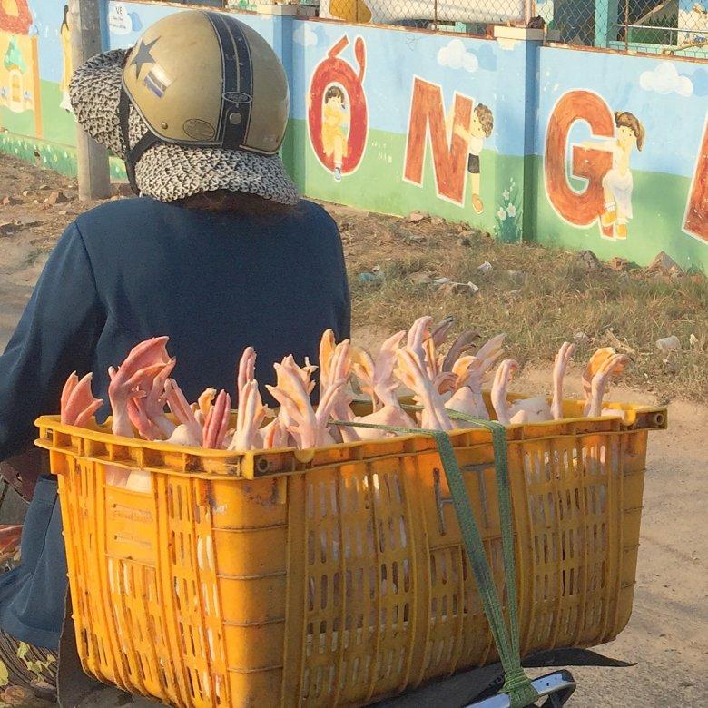 Okolice Phan Thiet - w drodze na stację kolejową w Binh Thuan