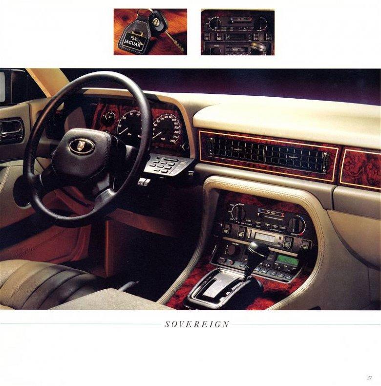 Jaguar XJ40 - wnętrze