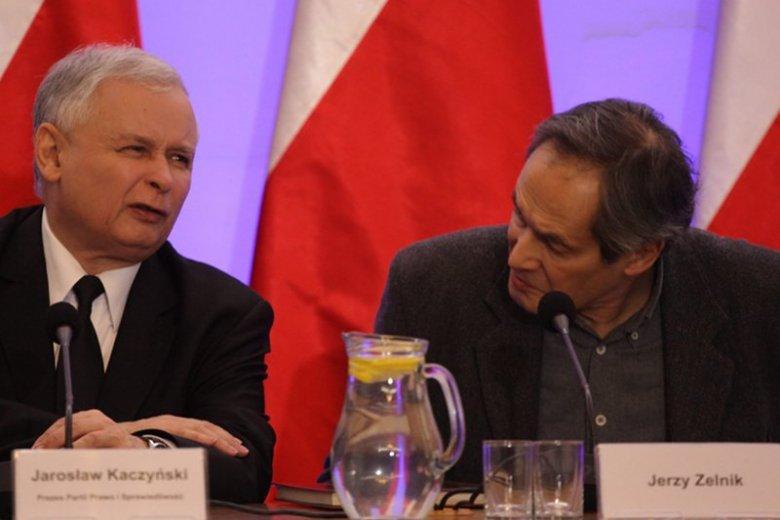 Jerzy Zelnik mino grzechów przeszłości należy do ulubieńców Jarosława Kaczyńskiego. Czy to przez niezachwiana wiarę w zamach  na prezydencki samolot?
