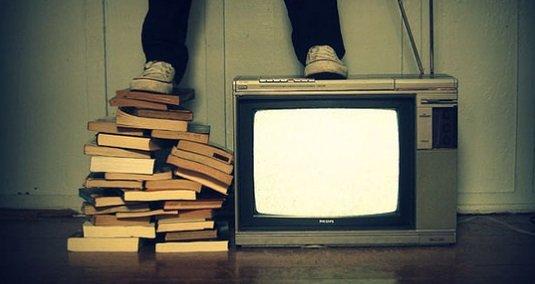 Książki czy telewizja?