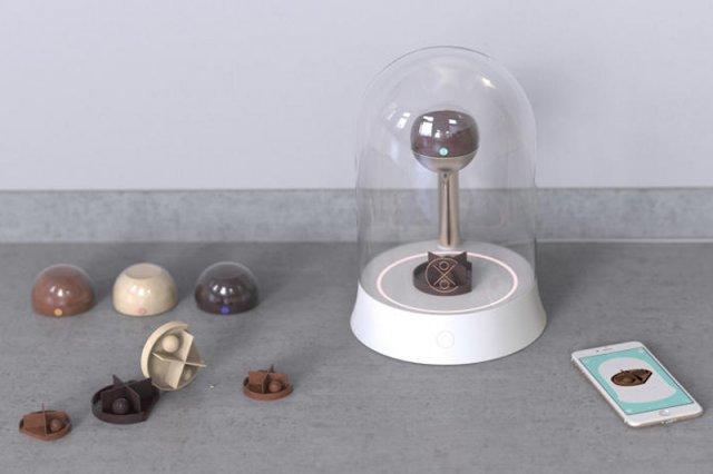Drukarka 3D wytwarzająca czekoladowe wyroby ma być odpowiedzią na potrzeby kreatywnych cukierników i właścicieli cukierni