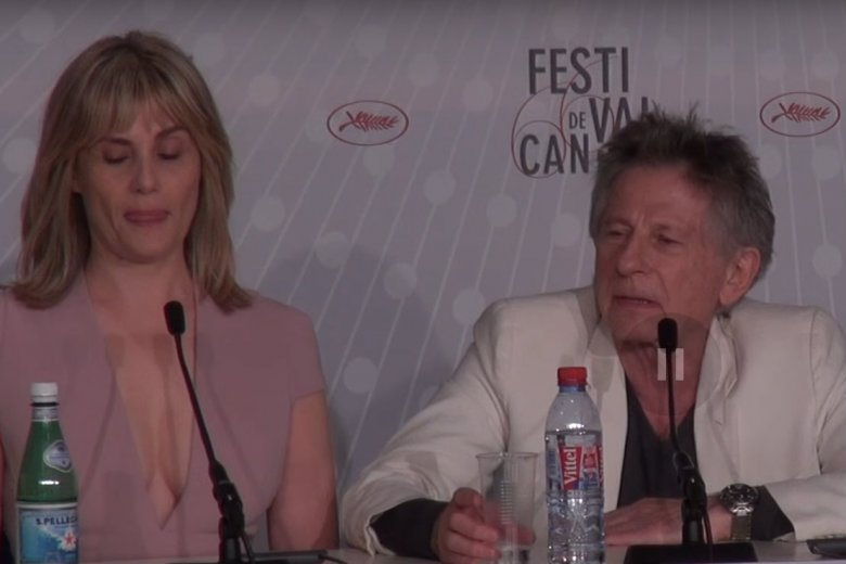 Emmanuelle Seigner w stanowczym tonie odpowiedziała na zaproszenie Akademii Filmowej.