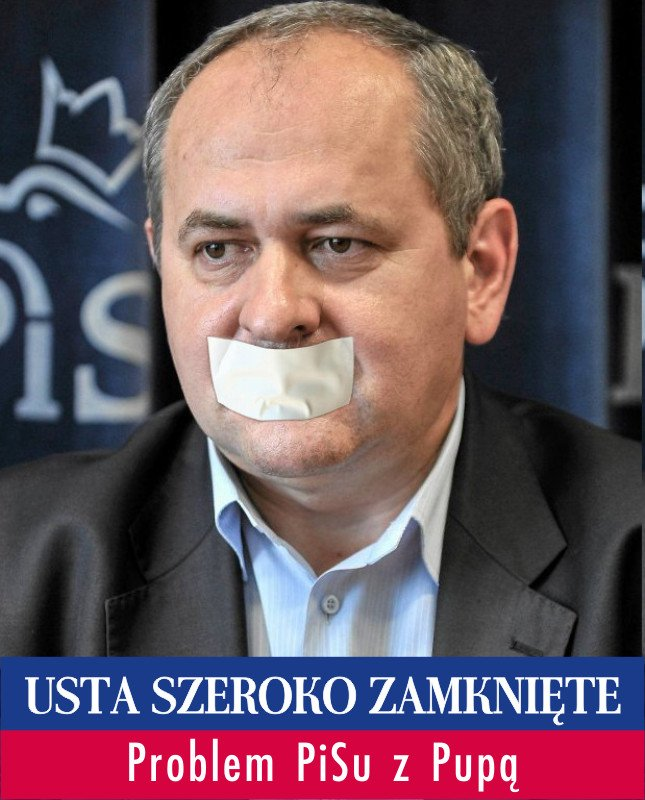 Kandydat PiS do Senatu Zdzisław Pupa unika publicznych wystąpień.