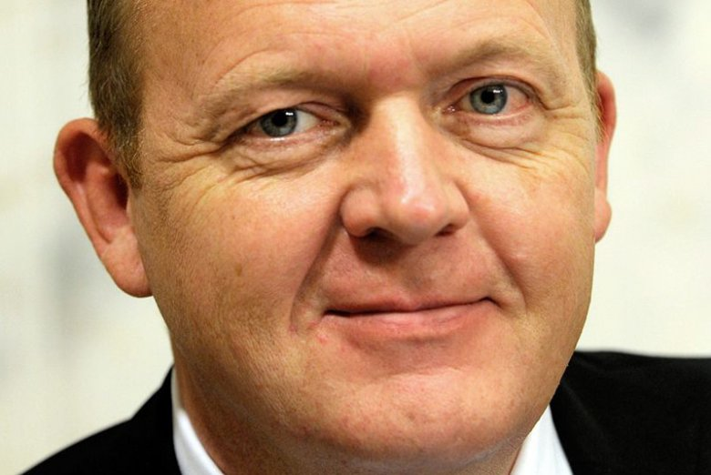 Lars Løkke Rasmussen, szef Venstre, partii wchodzącej w koalicję rządzącą w Danii.