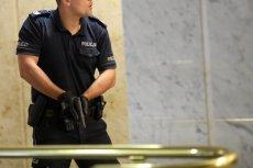 Policjant użył broni wobec agresywnego pacjenta w jednym z łódzkich szpitali.