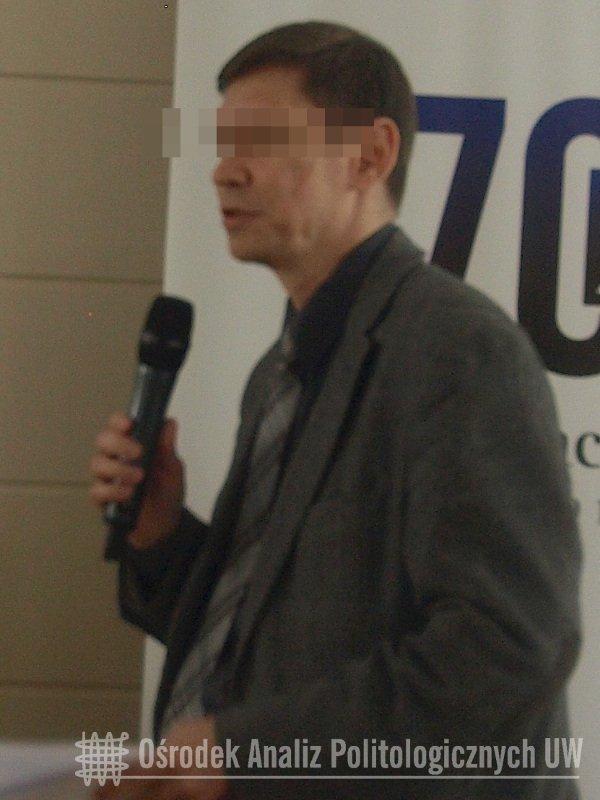 """W 2014 r. prof. Dmitryi K. brał udział w konferencji naukowej pt. """"Polityki pamięci i dyskursy pamięci w 100-lecie wybuchu I wojny światowej""""."""