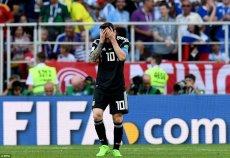Lionel Messi zmarnował karnego w meczu z Islandią.