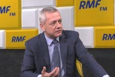Minister Marek Zagórski mówił o dostępie do pornografii za pomocą specjalnego klucza.