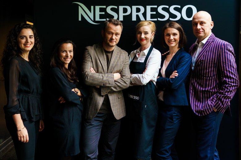 Od lewej: Hala Halabi, Katarzyna Pikora, Anna Oleksak, Joanna Tusiewicz, Michał Proszewski oraz Jarosław Kuźniar