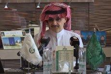 Książę Alwalid bin Talal przekaże swój majątek na cele charytatywne