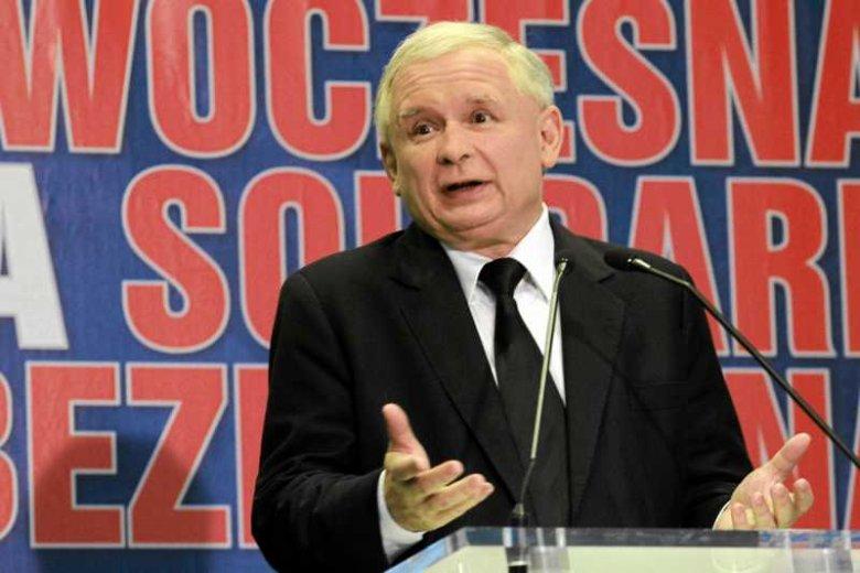 Jarosław Kaczyński – czołowa postaćpolskiej prawicy