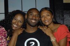 Od lewej: Shaya Tabb, Kobe Bryant, Sharia Washington