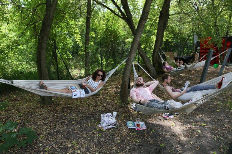 Piknik na Polach Mokotowskich może wyglądać też tak.