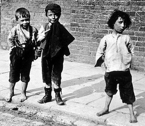 Dzieci ulicy (Londyn, XIX w.)