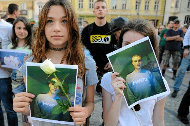 Marsz przeciwko przemocy policji we Wrocławiu, związany ze śmiercią Igora Stachowiaka.