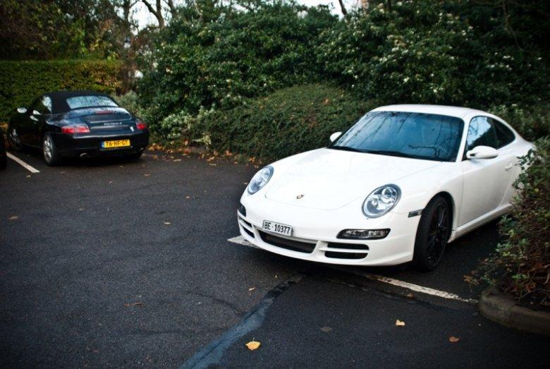 Porsche 997 + 996