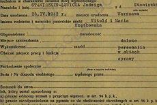 Przykład protokołu z przesłuchania prof. Staniszkis, który znajduje się na stronie lustracja.net.