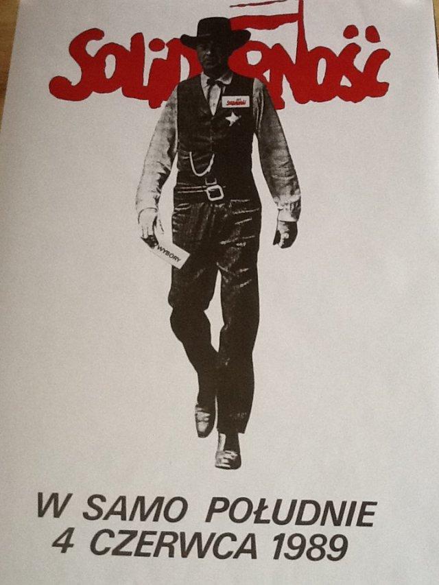 Kultowy plakat z kampanii wyborczej 4 czerwca 89